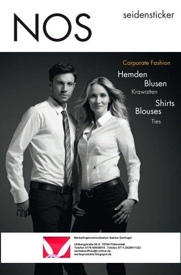 Hemden und Blusen von Seidensticker als Corporate Fashion, Berufsbekleidung