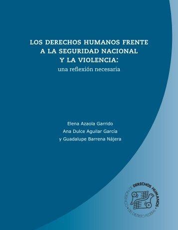 los derechos humanos frente a la seguridad nacional y la violencia