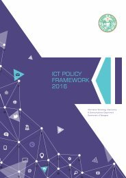 ICT POLICY FRAMEWORK 2016