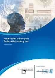 Artur Fischer Erfinderpreis Baden-Württemberg 2011