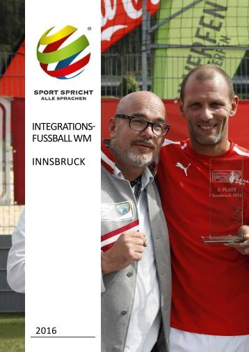 Integrationsfussball-WM Innsbruck 2016