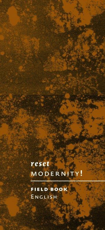 reset modernity!