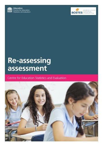 Re-assessing assessment