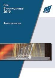 die nominierten stiftungen - Feri Trust GmbH