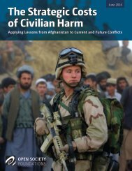 The Strategic Costs of Civilian Harm