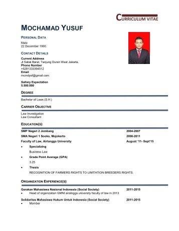 CV Yusuf