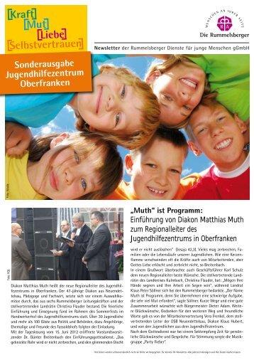 Sonderausgabe Jugendhilfezentrum Oberfranken - Die ...