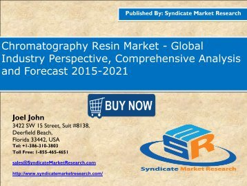 Chromatography Resin Market