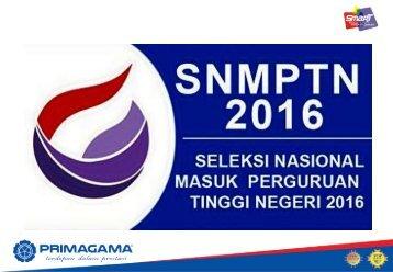 Data Siswa PRIMAGAMA SNMPTN 2016