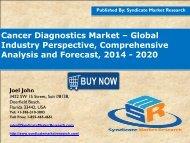cancer diagnostic market