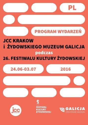 JCC Krakow i Żydowskiego muzeum galicja