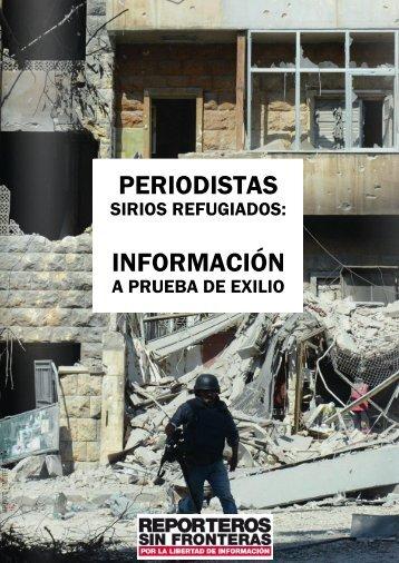 PERIODISTAS INFORMACIÓN