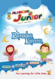 HADAF JUNIOR #31 JUNE 2016 ISSUE