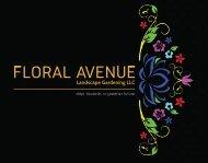 Floral Avenue brochure l