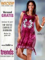 Каталог Bader Trends весна-лето 2016. Заказ одежды на www.catalogi.ru или по тел. +74955404949