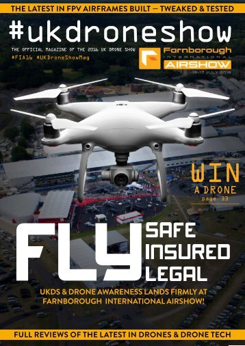 ISSUE 2 - JUNE 2016 UKDRONESHOW.COM 1