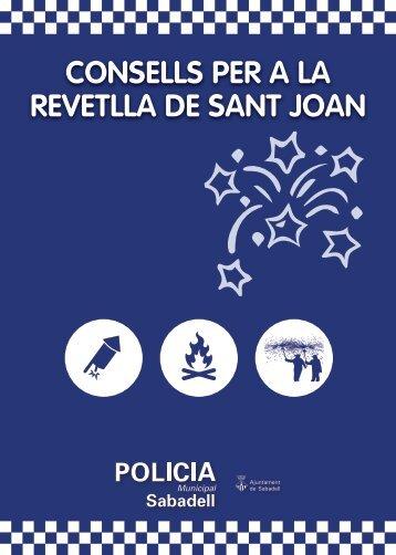 CONSELLS PER A LA REVETLLA DE SANT JOAN
