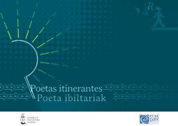 Poetas itinerantes Poeta ibiltariak
