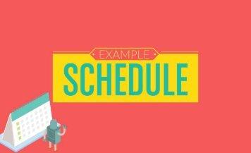 Example Schedule-JustPointblank