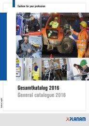 PLANAM Katalog 2016