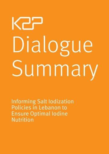 Dialogue Summary