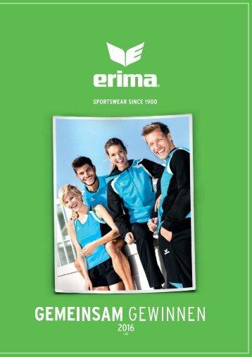 ERIMA Katalog 2016