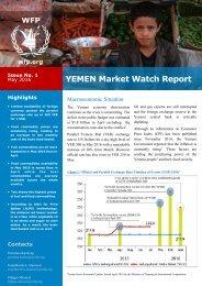 YEMEN Market Watch Report