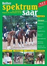 Reiter-Spektrum-Saar Ausgabe 2-2008