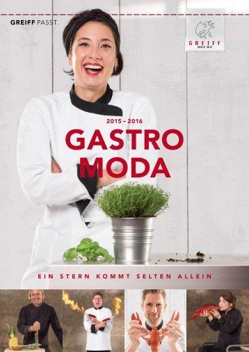 GREIFF Gastro Mode Katalog 2015