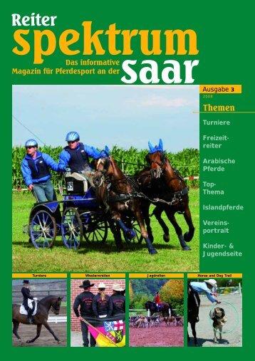 Reiter-Spektrum-Saar Ausgabe 3-2008