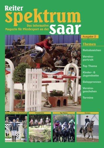 Reiter-Spektrum-Saar Ausgabe 2-2009