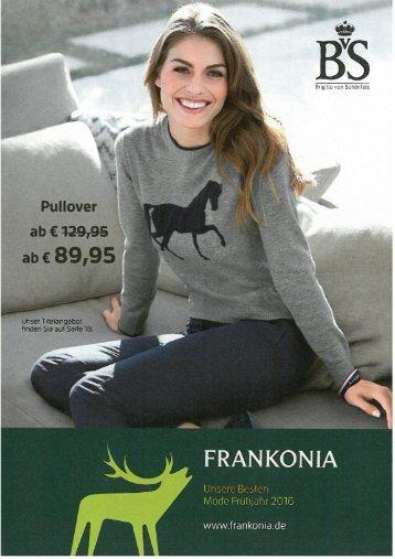 Каталог Frankonia весна 2016. Заказ одежды на www.catalogi.ru или по тел. +74955404949