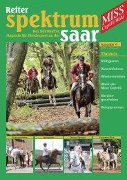 Reiter-Spektrum-Saar Ausgabe 4-2009