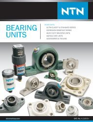 NTN - Bearing units catalog a-21000-i