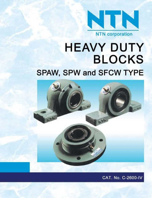 NTN - Heavy Duty Blocks