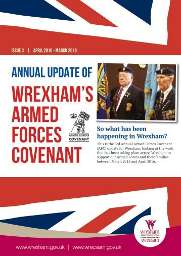 WREXHAM'S ARMED FORCES COVENANT