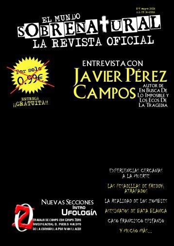 El Mundo Sobrenatural Mayo 2016 - Cuarto Milenio con Javier Pérez Campos