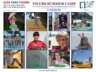 VII CBS SUMMER CAMP