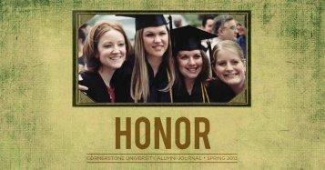 2013 Alumni Journal: Spring Issue