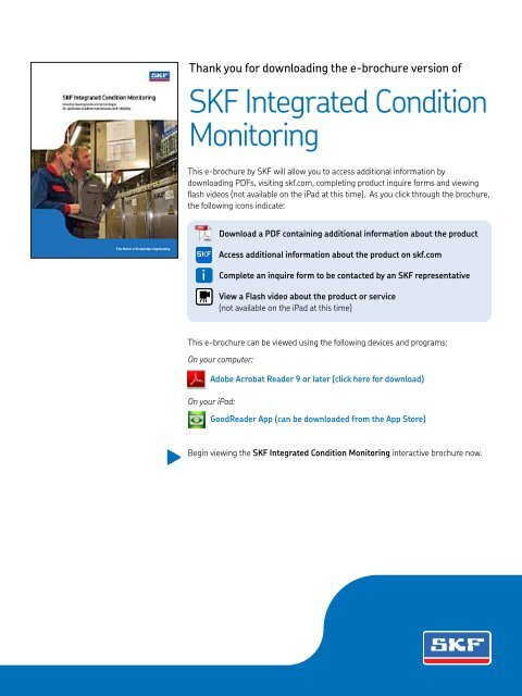 SKF - Integrated Condition Monitoring