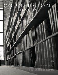 2012 Cornerstone Magazine