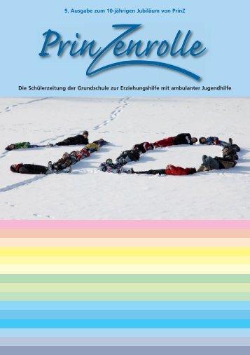 9. Ausgabe zum 10-jährigen Jubiläum von PrinZ Die Schülerzeitung ...