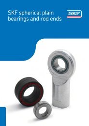SKF - Spherical Plain Bearings and Rod Ends