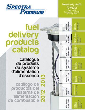 Spectra Premium - Produits du système d'alimentation d'essence