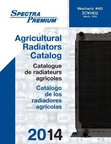 Spectra Premium - Radiateurs Agricoles