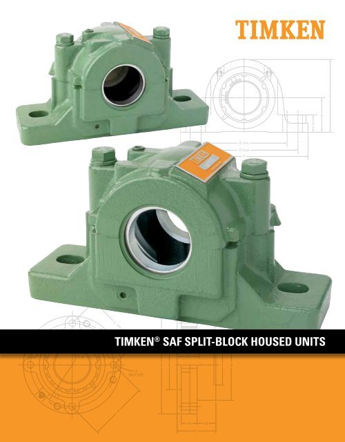 Timken - Saf Split-Block Housed Units