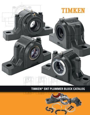 Timken - SNT Plummer Block