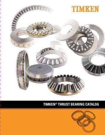 Timken - Thrust Bearings