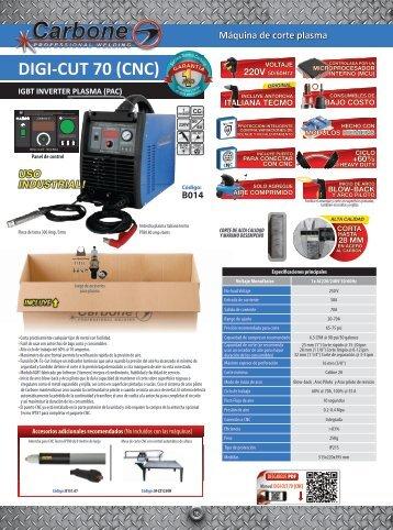 Catálogo Mesa de Corte CNC