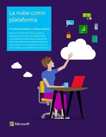 La nube como plataforma